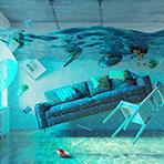 arlington-water-damage-flooded-home